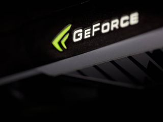 The GeForce GTX 590 also incorporates a functional LED to let users know the operational state of the GTX 590 card.