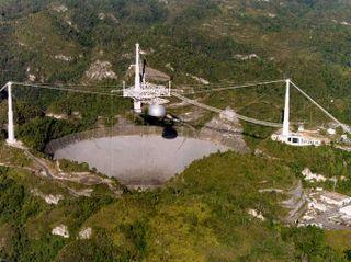 Arecibo Radio Observatory. Copyright: Cornell University