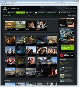 3DVisionLive.com Main Screen -- 3D Photos