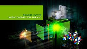 New NVIDIA Quadro 4000 for Mac data sheet (features/benefits)