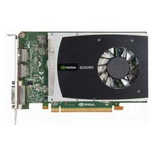 Quadro 2000 - top of card from above
