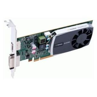 Quadro 600 - top of card on side