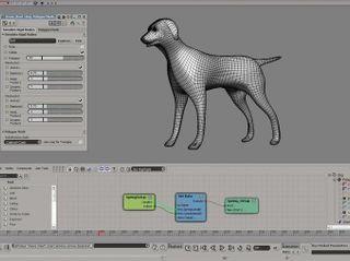Image rendered using Autodesk Softimage 2011 and NVIDIA PhysX (photo courtesy of Autodesk)