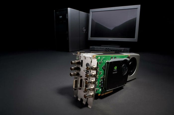The NVIDIA Quadro Digital Video Pipeline - 3D Starts Here