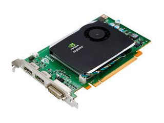 NVIDIA Quadro FX 580 certified professional graphics solution for AutoCAD 2011