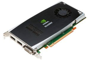NVIDIA Quadro FX 1800 certified professional graphics solution for AutoCAD 2011