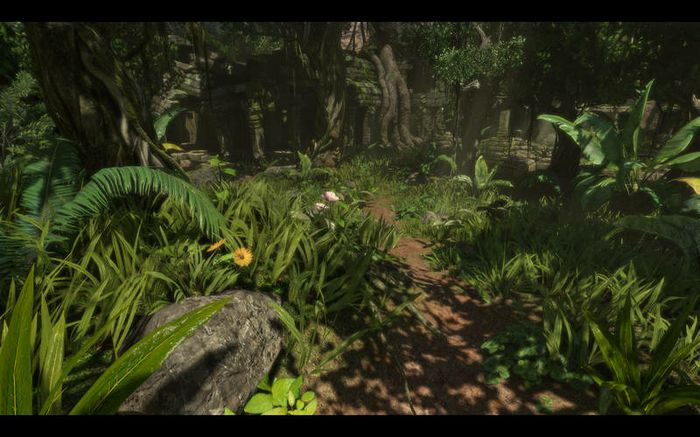 Foliage in games designed with Unreal Engine 3 will look ultra-realistic in 3D and immerse gamers in the environments.