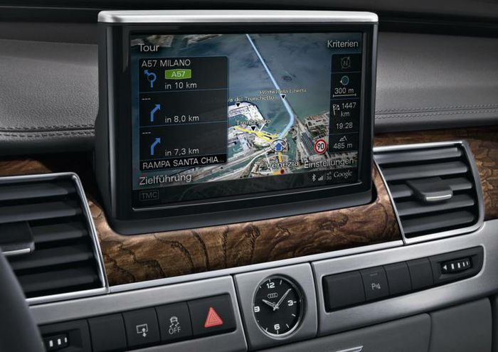 The navigation and entertainment system in the Audi 2010 product line uses NVIDIA GPUs to process and generate all visual imagery.