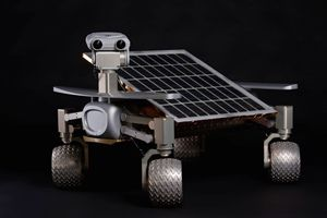 Asimov Moon Rover Part-Time Scientists