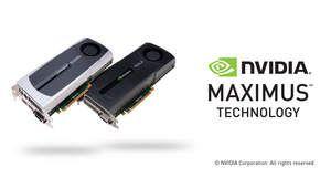 NVIDIA Maximus technology (Quadro+Tesla)