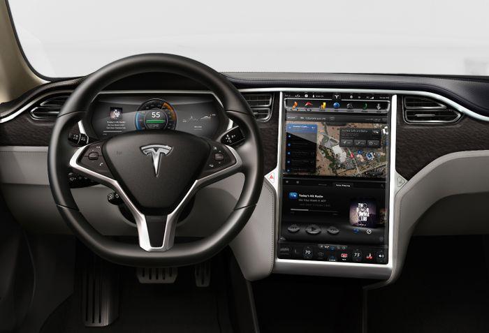 Energy-efficient NVIDIA Tegra module powers groundbreaking infotainment, navigation and digital instrument cluster system in Tesla Motors Model S electric sedan.