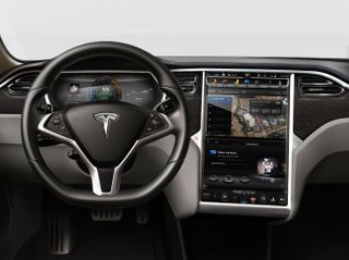 Energy-efficient NVIDIA Tegra module powers groundbreaking infotainment, navigation and digital instrument cluster system in Tesla Motors Model S electric sedan.