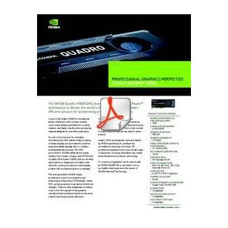 New NVIDIA Quadro K5000 professional graphics card - features & benefits