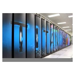 Titan Supercomputer At Oak Ridge National Laboratory In Tennessee
