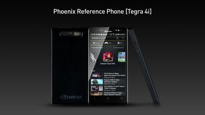 NVIDIA's Phoenix reference smartphone platform with Tegra 4i