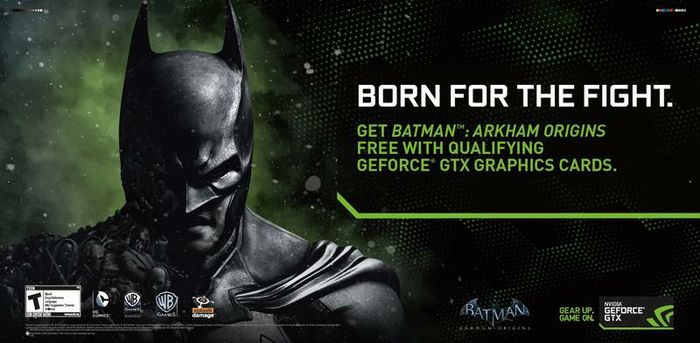 For a full list of participating GeForce GTX bundle partners, visit: www.geforce.com/freebatman.