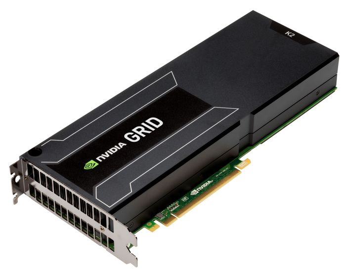 NVIDIA GRID technology enables multiple users to share a single GPU, improving user density while providing true PC performance and compatibility.