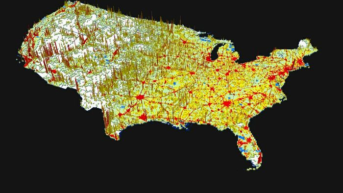 Mapping the World with GPUs Reveals Population Trends