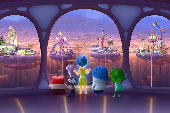 Inside Out photo courtesy of Pixar Animation Studios