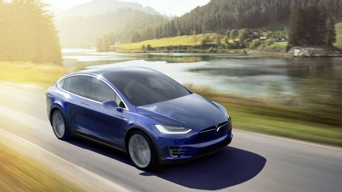 Wings Come Standard: Tesla Motors Model X Rolls Out with Tegra Onboard