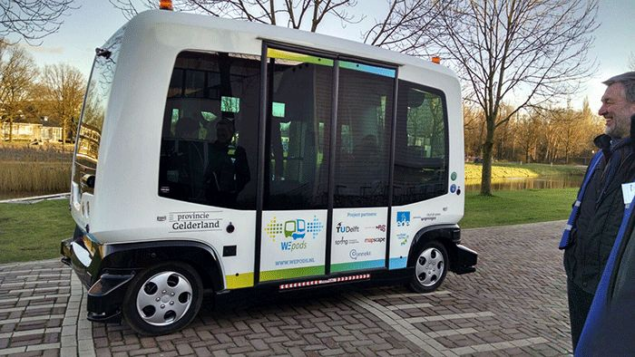 WEpod Becomes First Driverless Car to Play in Traffic