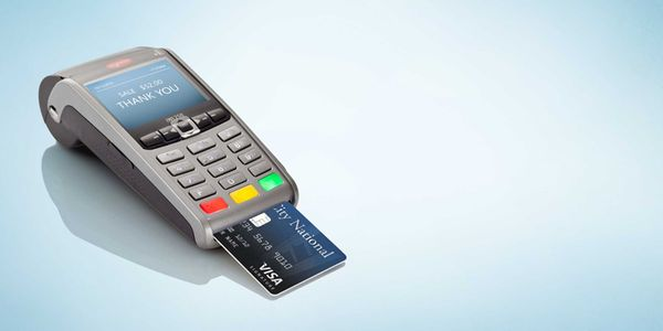 Where can small-business owners learn about EMV terminals and chip-card technology?
