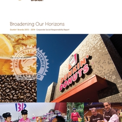 2014 CSR Report Cover
