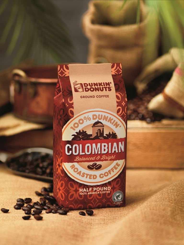 Colombian Packaged Coffee Lifestyle