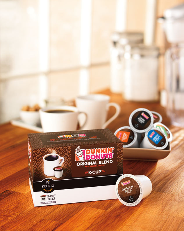Dunkin Donuts K Cup 174 Pods Now Available In Retail Outlets
