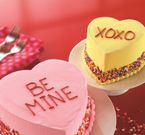 Baskin-Robbins Conversation Heart Cakes