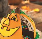 Pinata Pumpkin Patch Cake