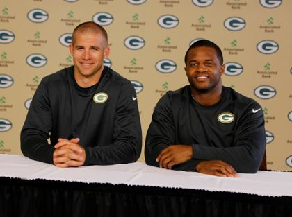 Jordy Nelson and Randall Cobb extend partnership with Associated Bank.