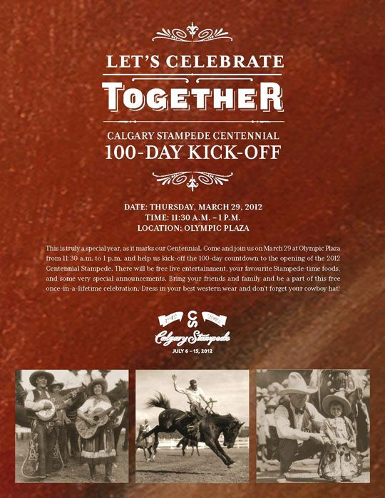 You Re Invited Calgary Stampede