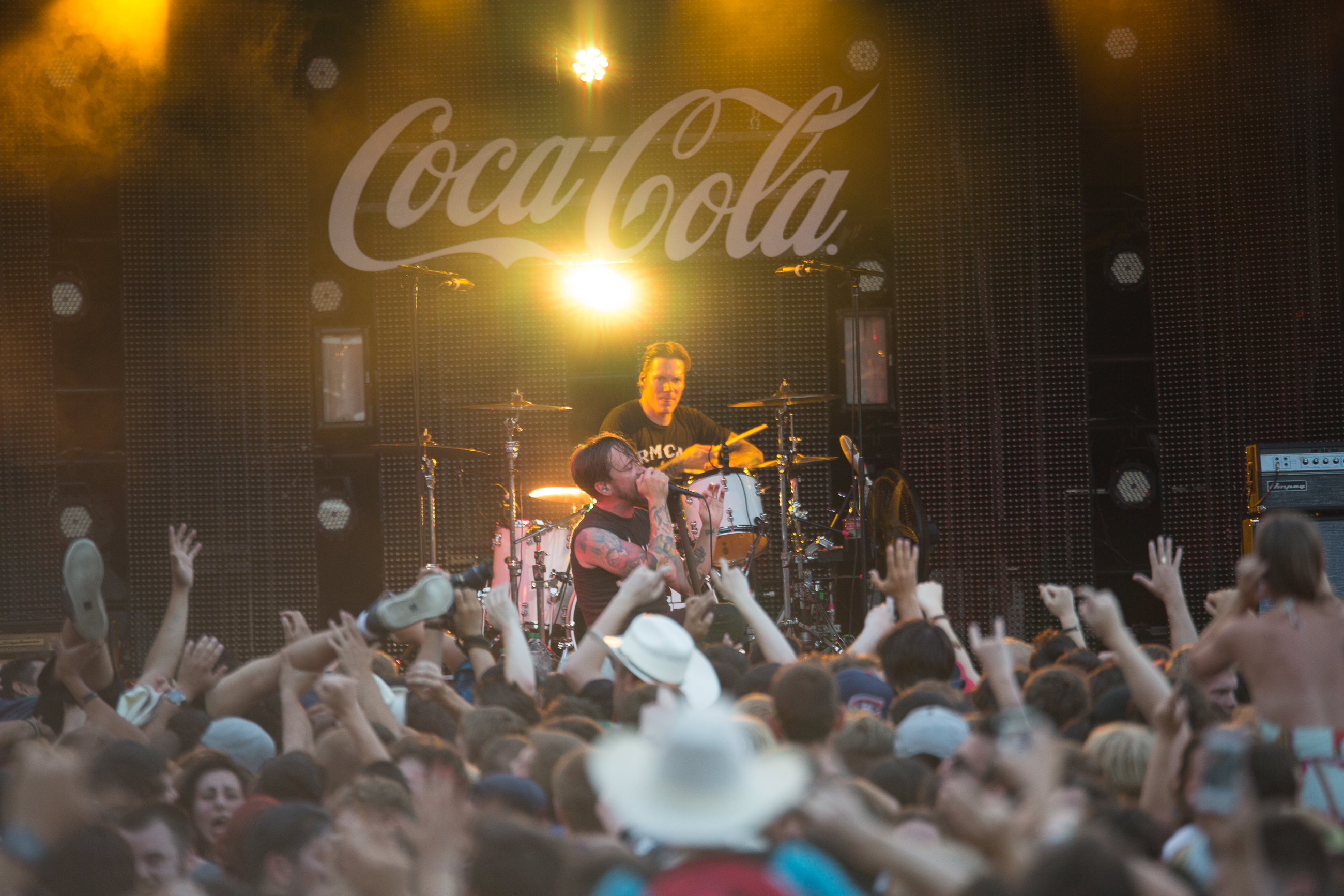 2015 Coca Cola Stage Is Ready To Rock Calgary Stampede
