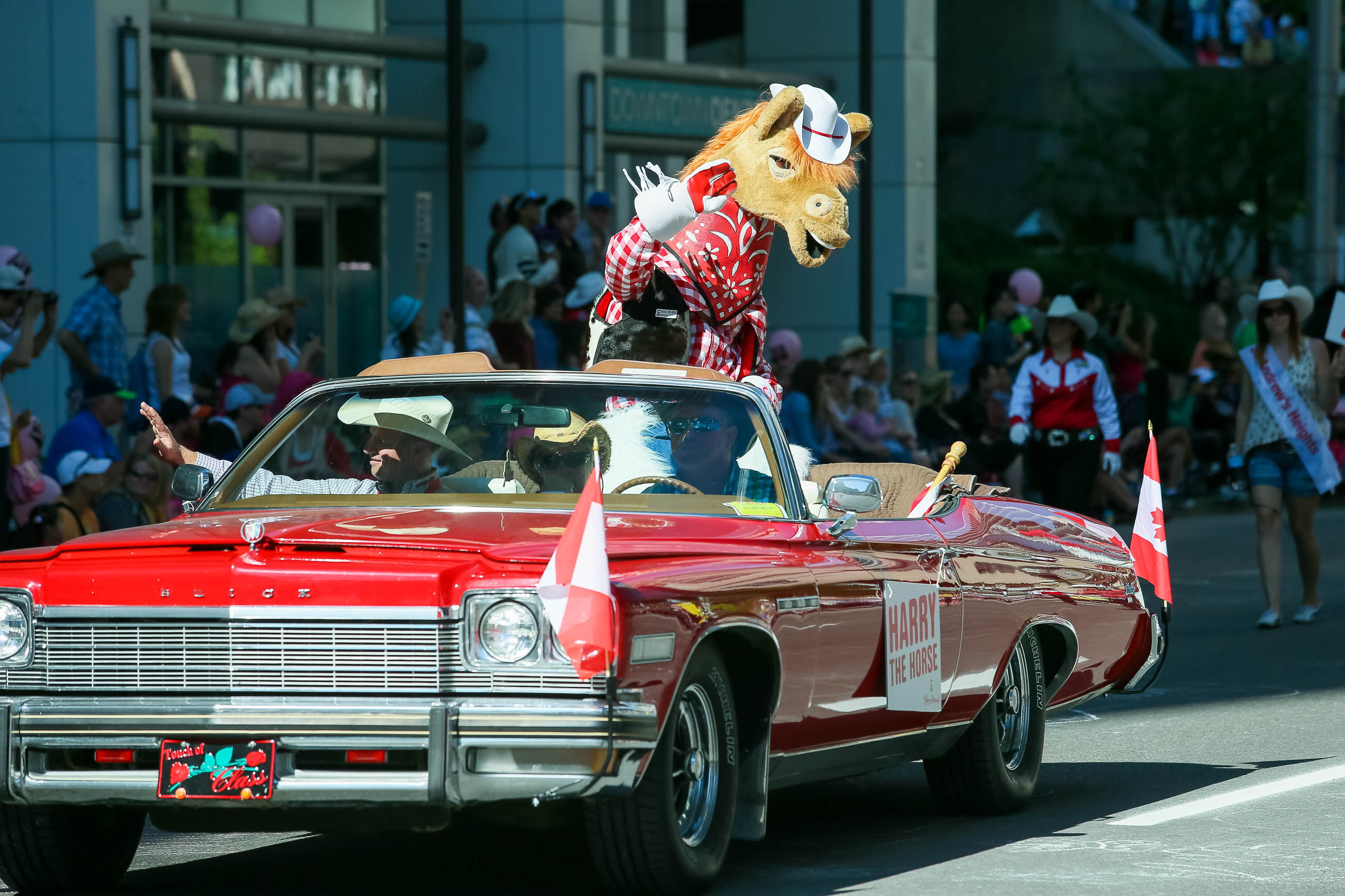 2015 Calgary Stampede Parade Hits The Streets Of Calgary