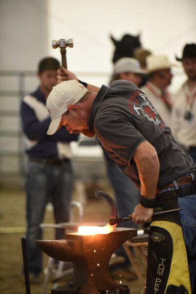 Tom Petersen, World Championship Blacksmiths Team