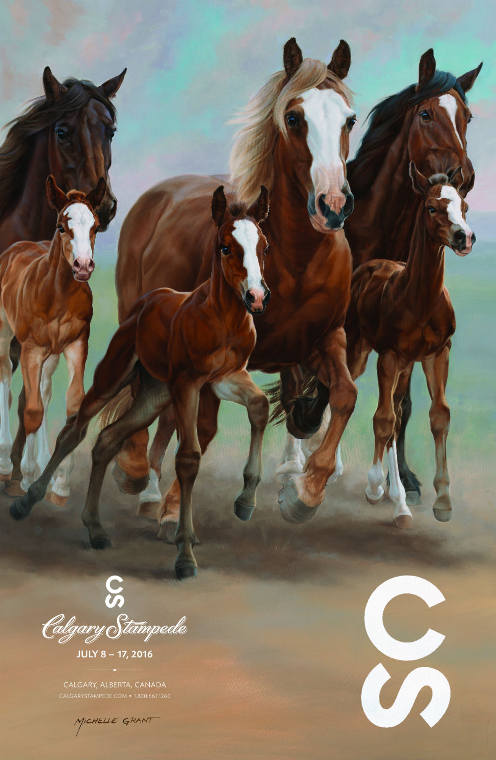2016 Calgary Stampede Poster Artwork Pays Homage To Stampede Ranch S