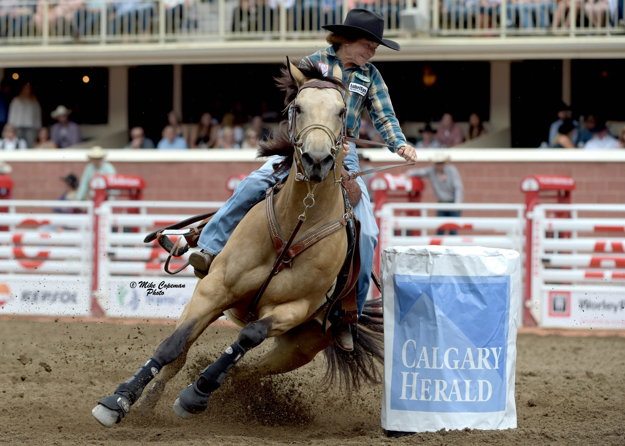 67 Year Old Barrel Racer Rides To Victory For A Second