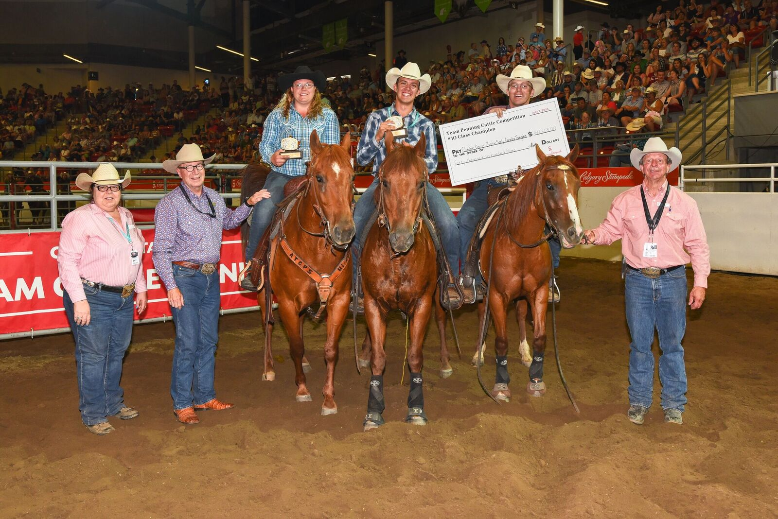 All Adding Up The Winners Of The 10 Class Team Penning
