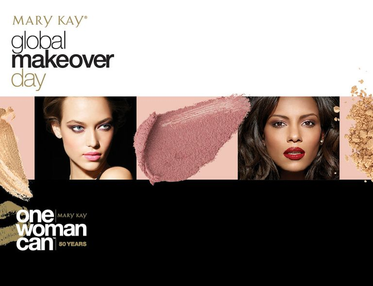 Mary Kay Global Makeover Day 2013