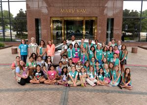 Girl Scouts TMKB group photo 082015