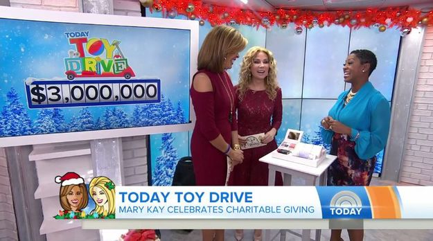 Mary Kay® Donates $3 Million To TODAY Show Toy Drive