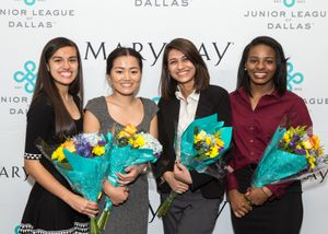 Third Annual 'Women Lead' Scholarship Program Awards $25,000 to Four Local Students