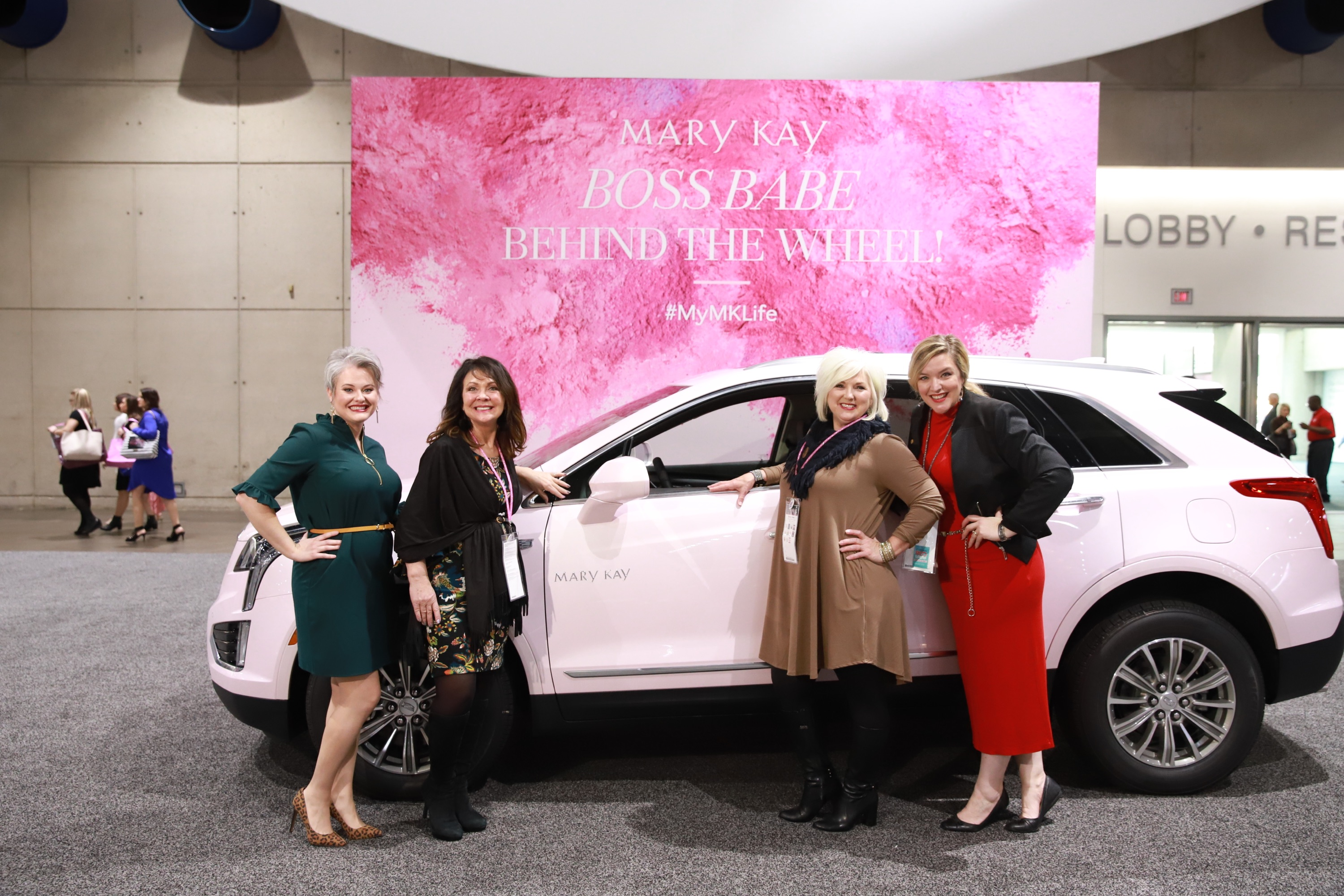 Top Beauty Brand Celebrates 50 Years Of An American Icon The Mary Kay Pink Cadillac Mary Kay Newsroom