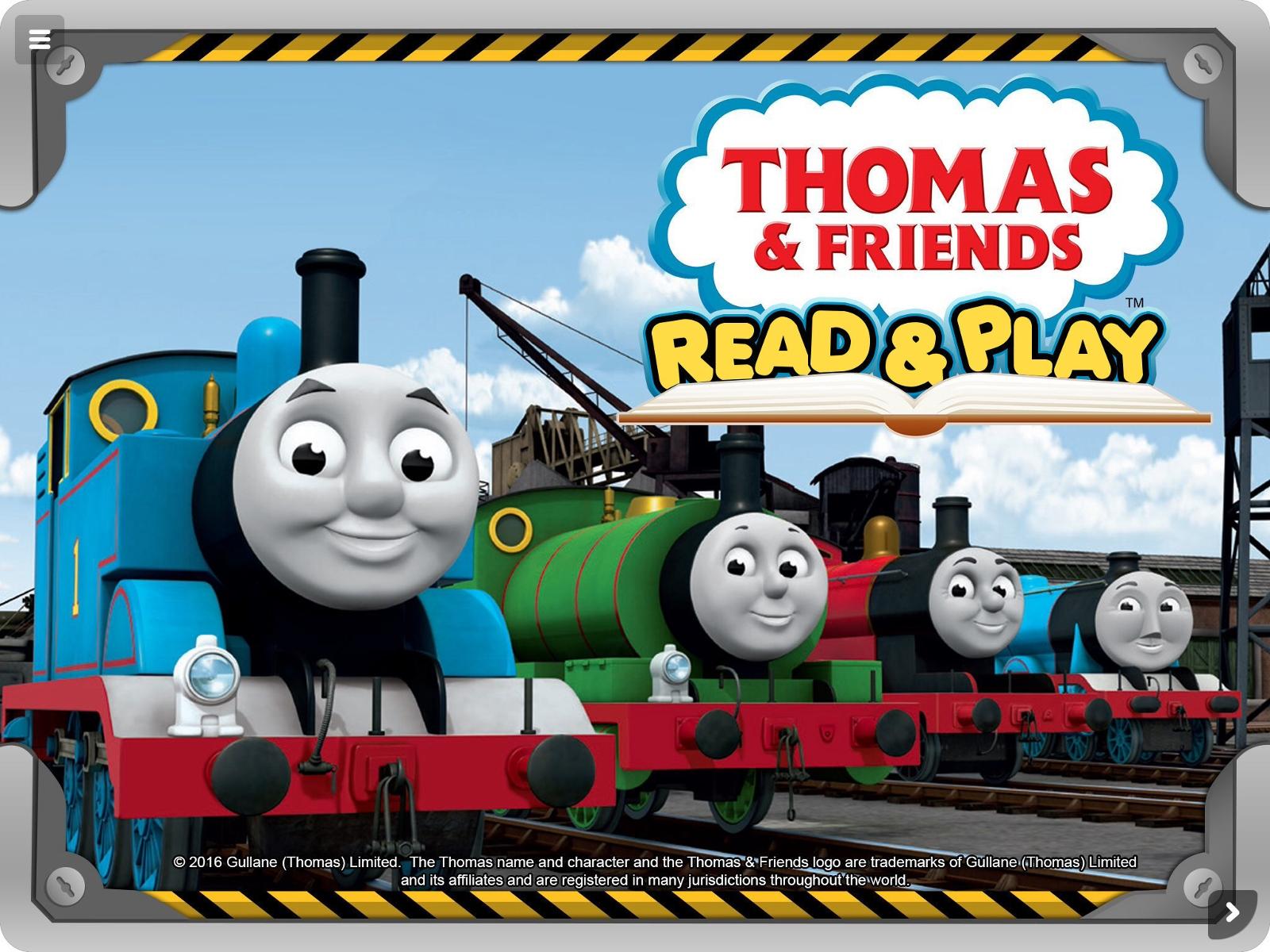 """Thomas & Friends(TM): Read & Play"" Learning App/e-book ..."