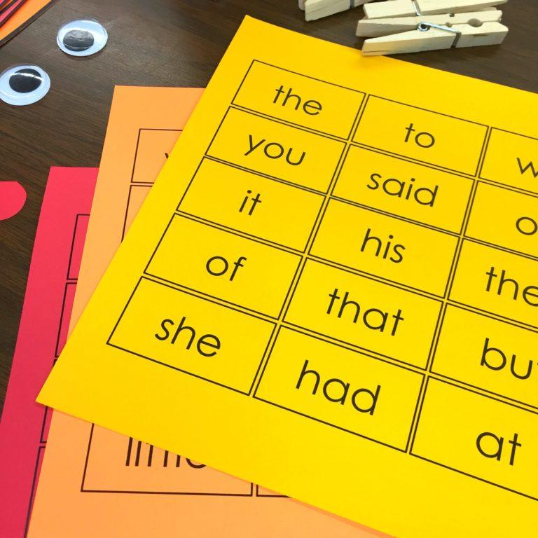 A Differentiated Kindergarten - Thanksgiving Sight Word Activity - 08