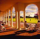 Resort Clubhouse Veranda
