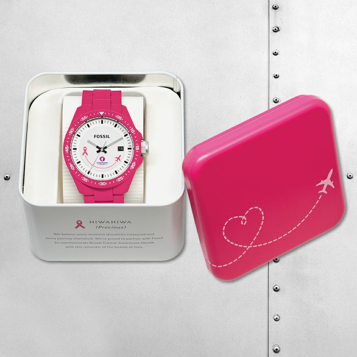 Hawaiian Airlines 'Time is Precious' Partnership Promotes Breast Cancer  Awareness
