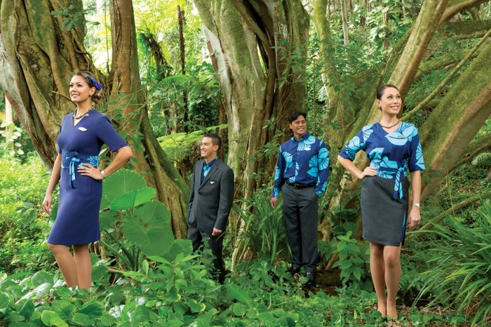 Hawaiian Airlines Partnered With Hawaii Based Designer Sig Zane To Create New Uniforms For More Than 5000 Front Line Employees The Will Debut In