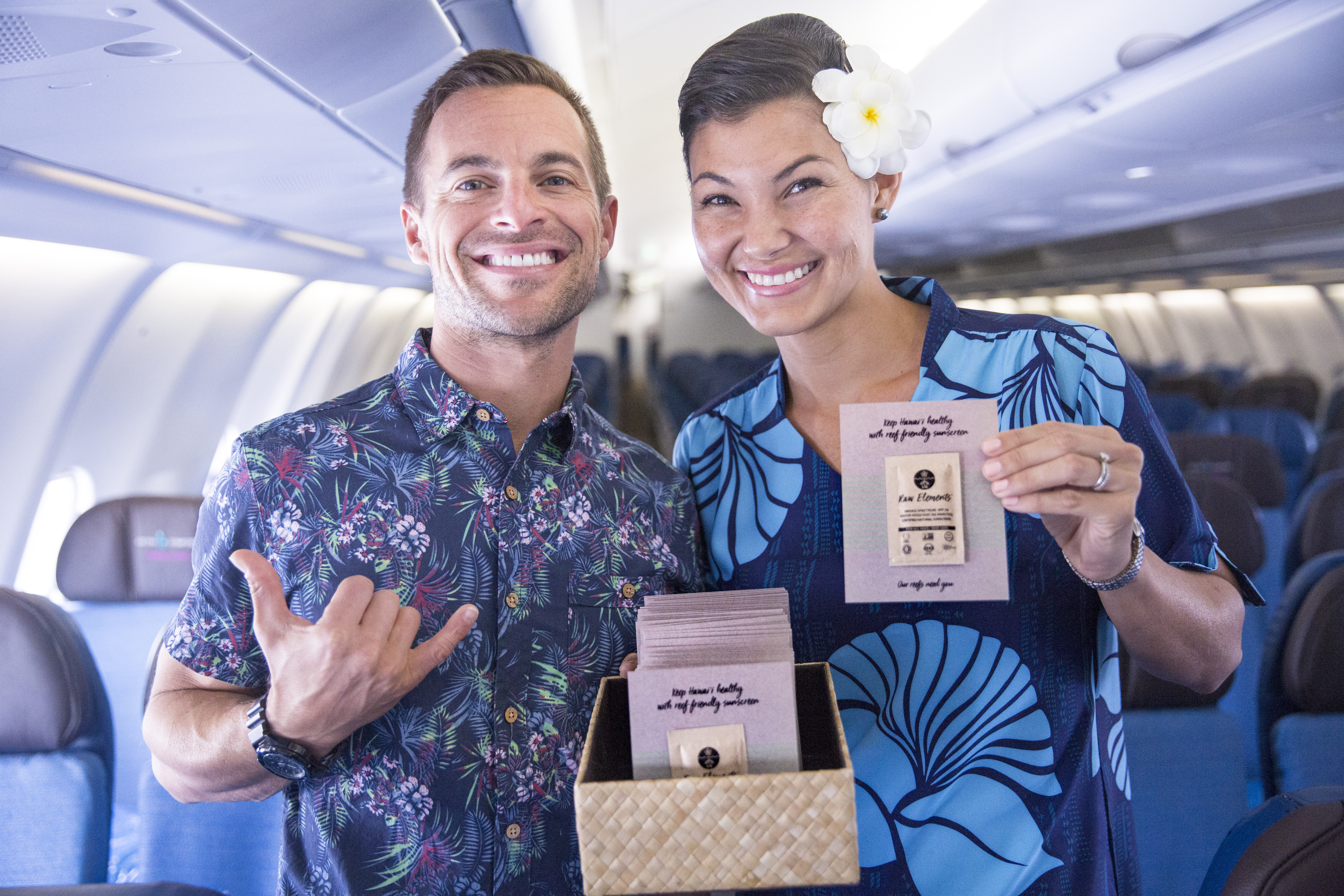 Hawaiian Airlines Raw Elements Usa Partner In Exclusive